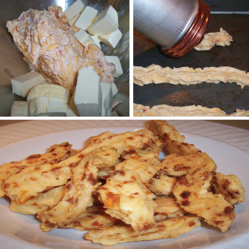 Palmetto Cheese Straws recipe