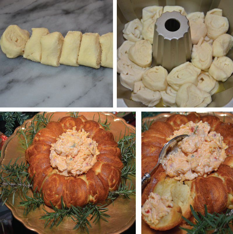 Palmetto Cheese Crescent Ring